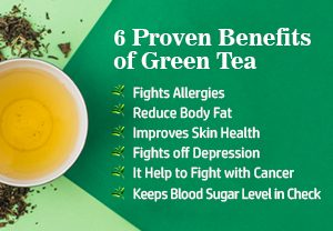 Green tea and its benefit