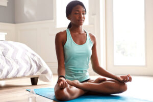 Healthy with proper meditation