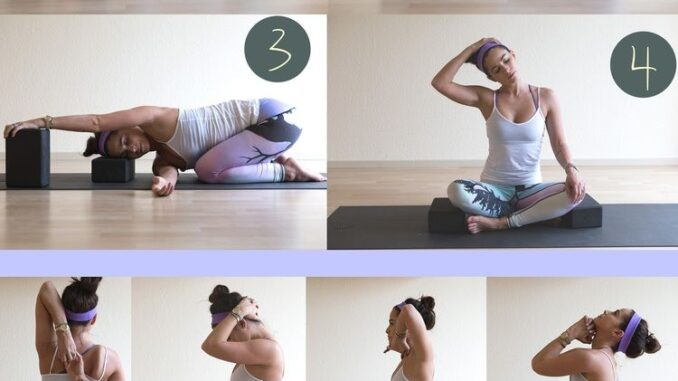 10 effective yoga poses for neck and shoulders - Yoga for the health