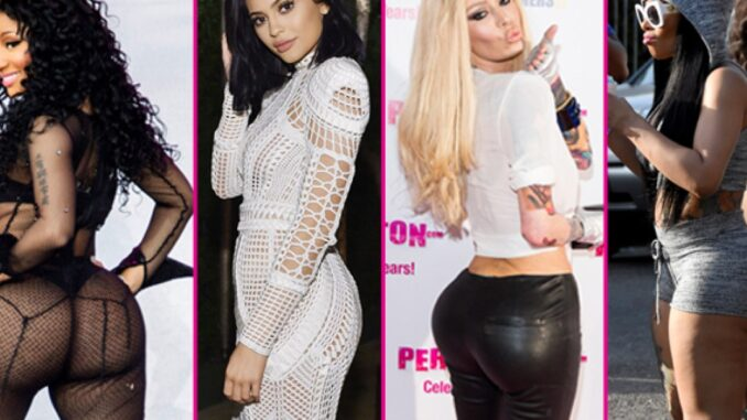 Did you say Squats? Check out here top celebrities with butt implants