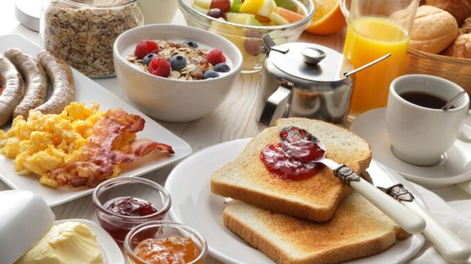 The definite answer to a perennial question - 'What to eat for breakfast'.